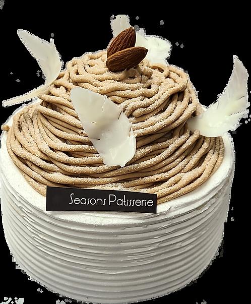 芒果栗子蛋糕