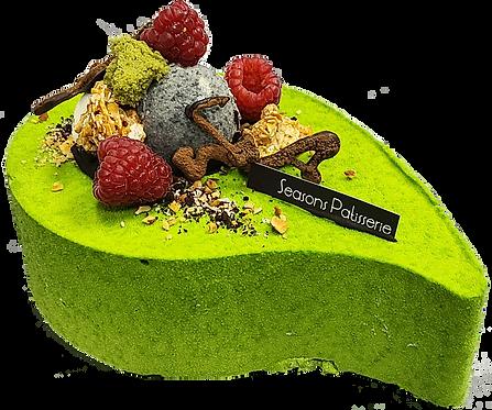 綠茶朱古力蛋糕
