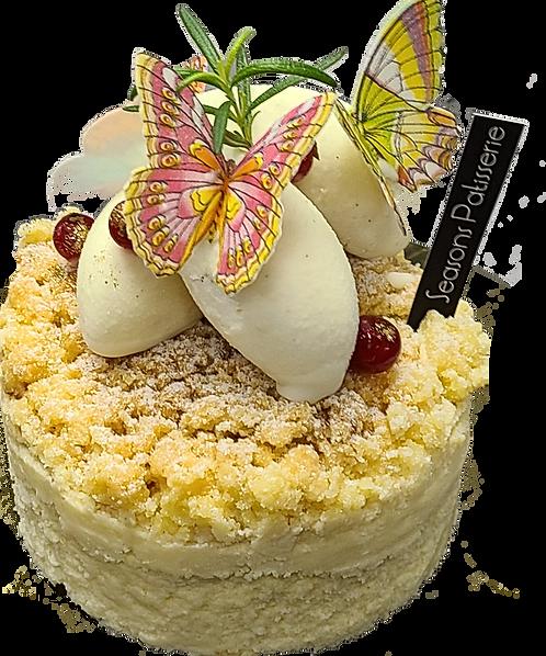 焗蘋果芝士蛋糕