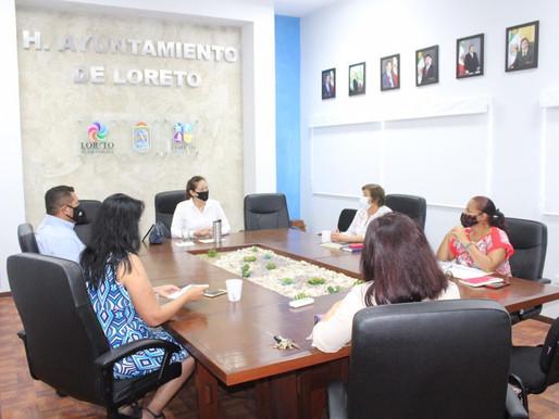 TRABAJAN DE LA MANO SECTOR EDUCATIVO Y GOBIERNO MUNICIPAL ANTE EL REGRESO A CLASES 2020.