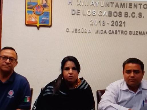 """""""Para el gobierno de Los Cabos la salud es primero""""; pospone Alcaldesa Armida Castro Fiestas Tradici"""