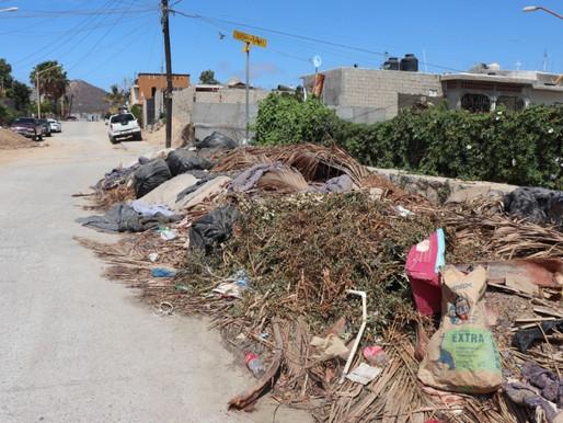 Servicios Públicos de CSL exhorta a la ciudadanía a no tirar basura en espacios públicos