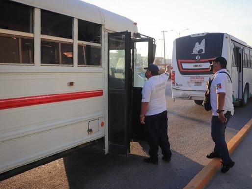 El Gobierno de Los Cabos no ha detenido la supervisión al Transporte Público