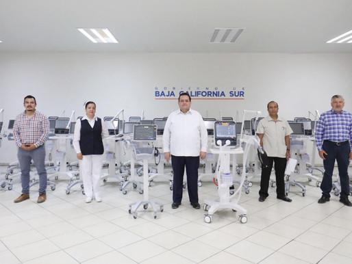 GOBIERNO ESTATAL ENTREGA LOTE DE VENTILADORES VOLUMÉTRICOS A LA SECRETARÍA DE SALUD