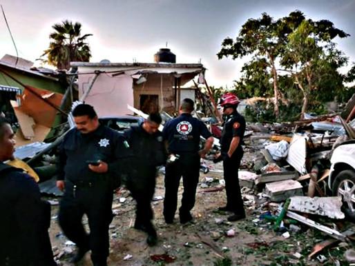 Heridos por explosión en casa de Los Cabos