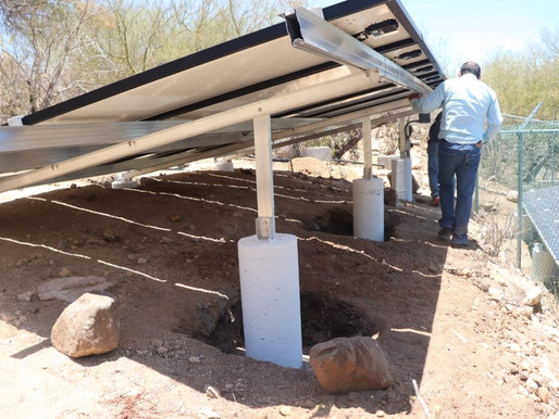Mejor servicio de agua potale para los habitantes de La Candelaria
