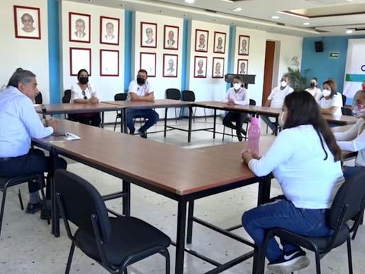 SOSTIENE SEP ENCUENTRO CON REPRESENTACIÓN DE MAESTROS EVENTUALES DE EDUCACIÓN BÁSICA