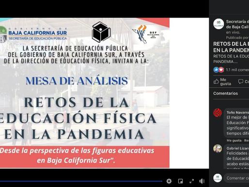 ANALIZAN DOCENTES DE BCS RETOS DE LA EDUCACIÓN FÍSICA DURANTE PANDEMIA