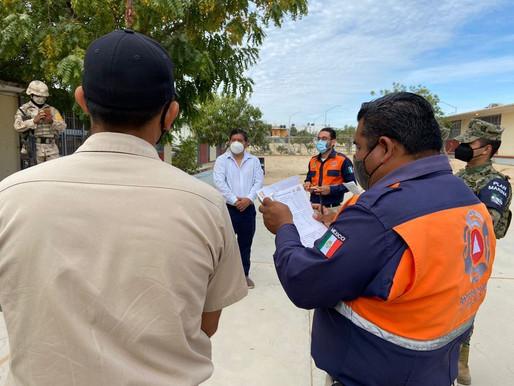 Para evitar contagios de COVID-19 durante el proceso electoral, Protección Civil de Los Cabos reforz