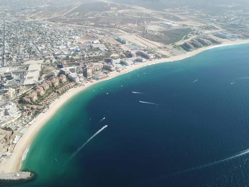 """aldo blanco en playas de Los Cabos, con operativo """"Semana Santa Segura 2021"""""""