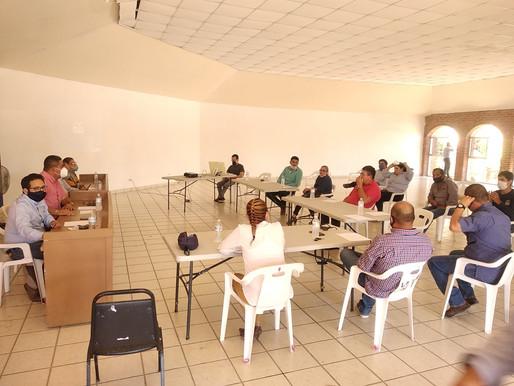 Progresivamente la reactivación de la construcción en Comondú