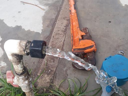 Se acabó escasez de agua en Ciudad Insurgentes