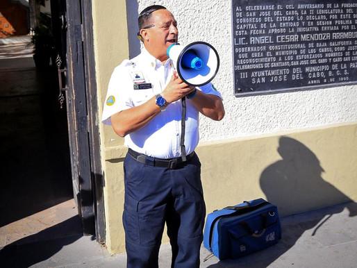 Los Cabos, parte del primer Macro Simulacro Nacional 2020