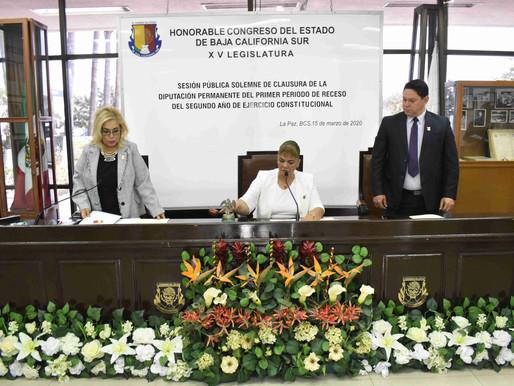 Inicia XV Legislatura segundo periodo del segundo año de ejercicio