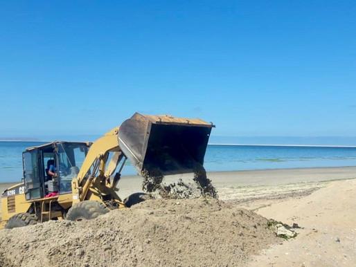 Servicios Públicos acudió a San Juanico, Las Barrancas y Santo Domingo