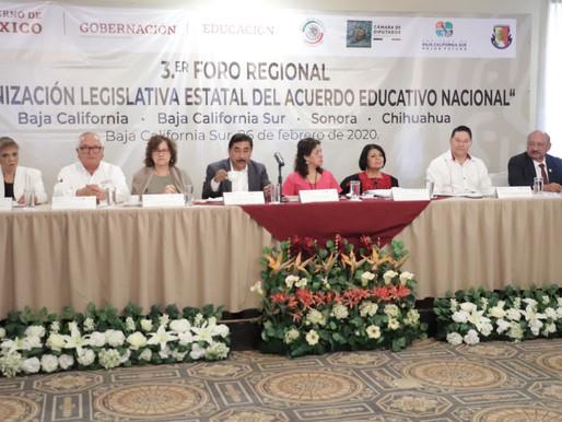Avanzas estados del Noroeste en Armonización de la Reforma Educativa