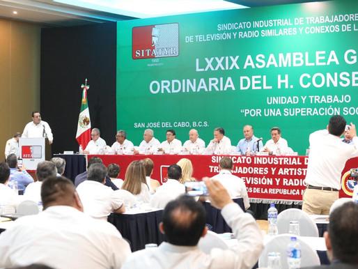 PONE EN MARCHA GOBERNADOR LXXIX ASAMBLEA GENERAL DEL SITATYR