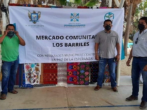 Buscará Desarrollo Económico apertura mercados de productores en La Paz y la Delegación de San Anto