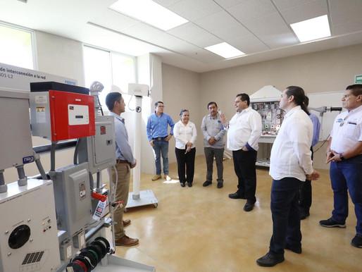 ENTREGA GOBERNADOR OBRAS POR 26 MDP EN LA UNIVERSIDAD TECNOLÓGICA DE LA PAZ