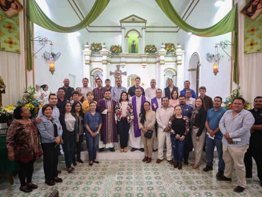 Inician actividades religiosas con motivo a las Fiestas Tradicionales San José del Cabo 2020