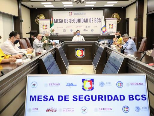 MESA DE SEGURIDAD FORTALECE PREVENCIÓN DE COVID19 Y ESTRATEGIA INTERINSTITUCIONAL: ÁLVARO DE LA PEÑA