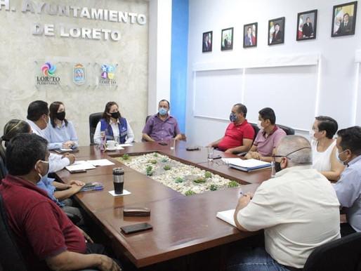 AVANCES Y ACCIONES DEL H. IX AYUNTAMIENTO DE LORETO EN TORNO AL TEMA DEL AGUA POTABLE.