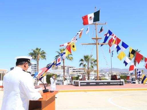 Gobierno de Los Cabos conmemoró el 107º aniversario de la Gesta Heroica del Puerto de Veracruz