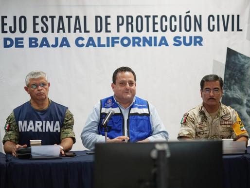 "SE ALEJA DE BAJA CALIFORNIA SUR TORMENTA TROPICAL ""LORENA"""