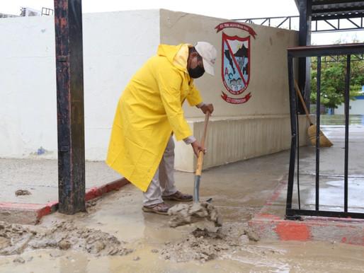En Los Cabos se garantizó la limpieza en Refugios Temporales y puntos de mayor afectación