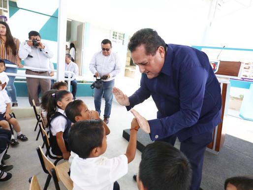 ENTREGA GOBERNADOR NUEVO JARDÍN DE NIÑOS EN CABO SAN LUCAS