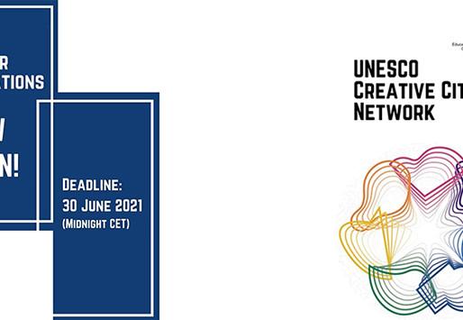 LA UNESCO PRESENTA CONVOCATORIA 2021 PARA LA APLICACIÒN DE RED DE CIUDADES CREATIVAS
