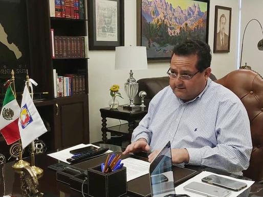 SE REUNE GOBERNADOR CON SECRETARIO DE HACIENDA Y TÍTULARES DEL PODER EJECUTIVO DE LAS ENTIDADES FEDE