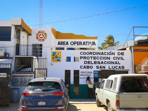 Cambia de ubicación la Coordinación de Protección Civil en Cabo San Lucas