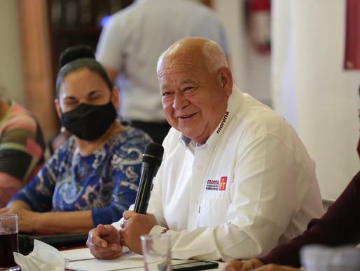Apoyaremos la reactivación de la industria restaurantera: Víctor Castro Cosío