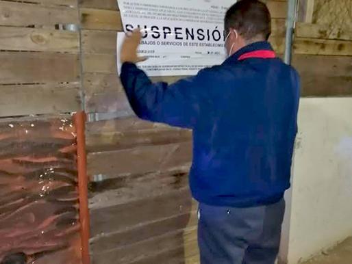 SUSPENDE COEPRIS A EMPRESAS POR INCUMPLIR PROTOCOLOS SANITARIOS