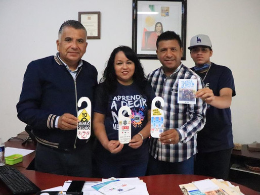 INJUVE se une con Asociación FJU para concientizar a la ciudadanía de Los Cabos sobre la educación v