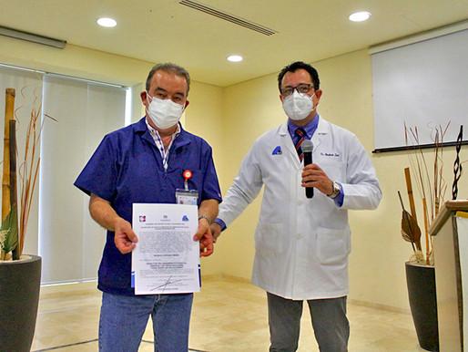 NOMBRAN A NUEVO DIRECTOR DEL HOSPITAL SALVATIERRA EN LA PAZ