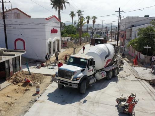 El XIII Ayuntamiento de Los Cabos trabaja en la pavimentación integral de 14 importantes vialidades