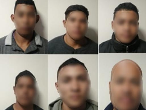 UN PRÓFUGO Y SEIS PERSONAS CON DOCUMENTOS FALSOS FUERON CAPTURADOS EN MÓDULOS DE REVISIÓN SECUNDARIA