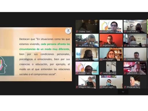 A través de conferencias virtuales promueve Gobierno de Los Cabos el bienestar emocional y el derech