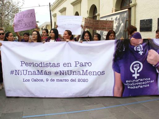 """Alza la voz alcaldesa Armida Castro a favor de las mujeres: """"ni una más, ni una menos""""."""