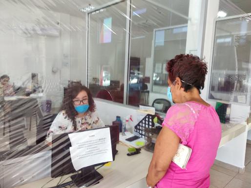 Operan oficinas del Ayuntamiento de Comondú, con todas las medidas preventivas y de higiene