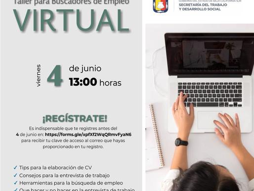 IMPARTIRÁN EN JUNIO CUATRO TALLERES PARA BUSCADORES DE TRABAJO EN BCS
