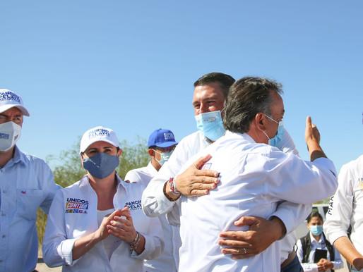 Con Pancho Pelayo ganamos el debate y ganaremos la gubernatura el 6 de junio: Ricardo Barroso