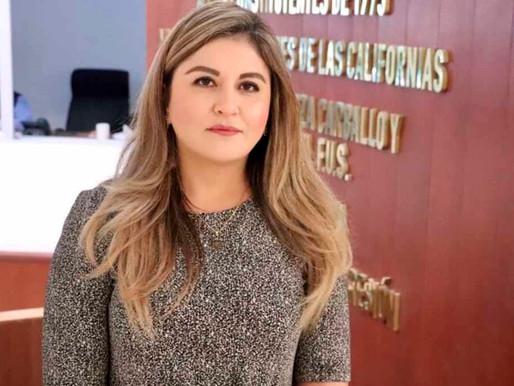 Daniela Rubio a la presidencia del Congreso de BCS