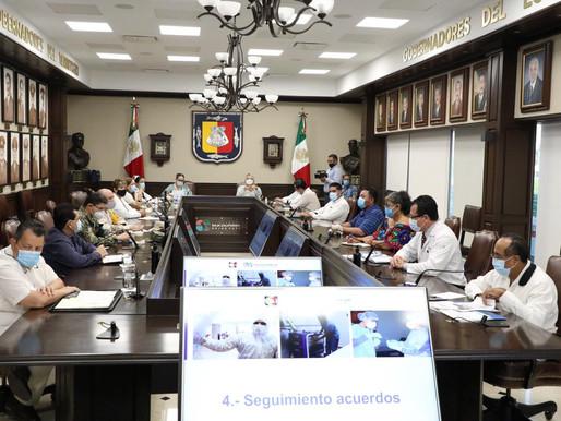 UNIDAD Y RESPONSABILIDAD PARA ENFRENTAR LA PANDEMIA POR COVID-19: CONSEJO ESTATAL DE SEGURIDAD EN SA