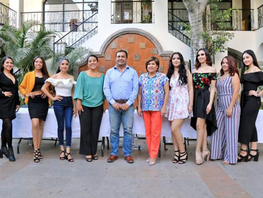 7 jóvenes bellas e inteligentes participan para ser la reina de las Fiestas Tradicionales San José d