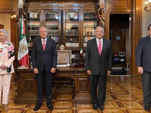 ATESTIGUA PRESIDENTE DE LA REPÚBLICA RELEVO EN DIRIGENCIA DE CONAGO