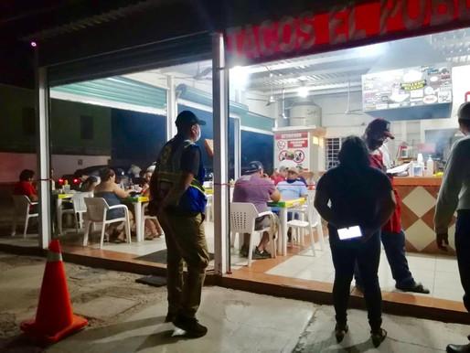CONTINÚAN LAS SUPERVISIONES DE PROTECCIÓN CIVIL PARA COMERCIOS Y ESTABLECIMIENTOS DE LORETO