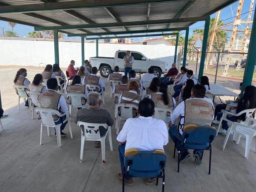 Visita el Coordinador Federal de Programas el municipio de Comondú